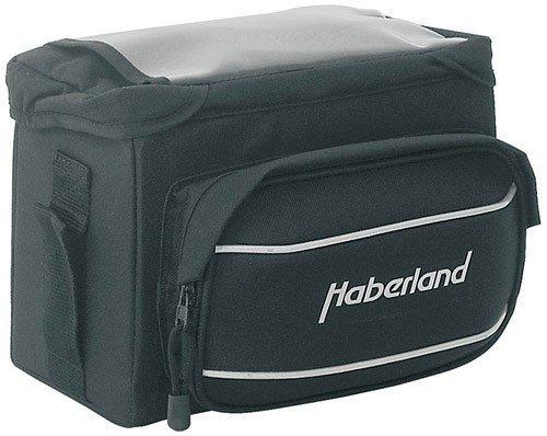 Haberland Fahrradtasche Lenkertasche 6L Schwarz Inklusive Mts-Adapter, MTS808 00
