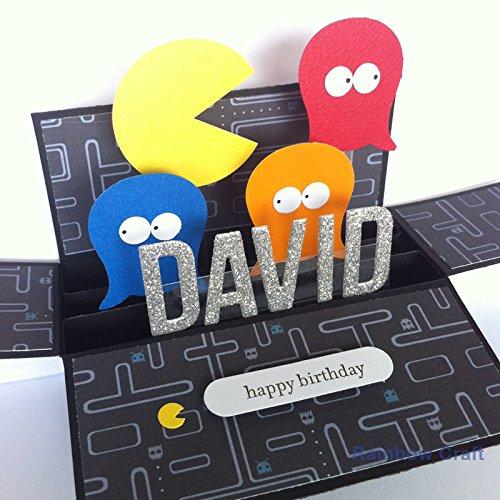 Amazon Name Personalised Birthday Card Boyfriend Card For Him
