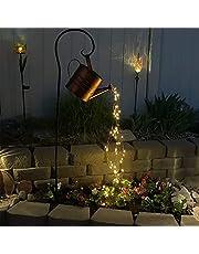 Ster Douche Tuin Kunst Licht Decoratie, Vlinder/Lieveheersbeestje/Olifant Led Lichtslingers Tuin Zonne-verlichting, Waterdichte Gieter Fee Licht Vorm Licht Met Beugel (Size : B)