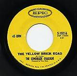 the yellow brick road / heat wave 45 rpm single