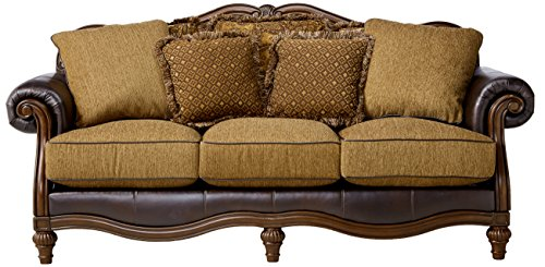 Ashley furniture signature design claremore sofa with 7 for Ashley claremore chaise