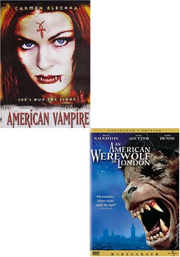 American Vampire / An American Werewolf in London (2 pack)