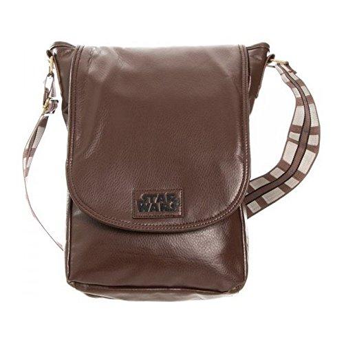 Star Wars Chewy Brown Mini Messenger Bag [Bioworld] by Star - Pocket One Top Marathon Unisex