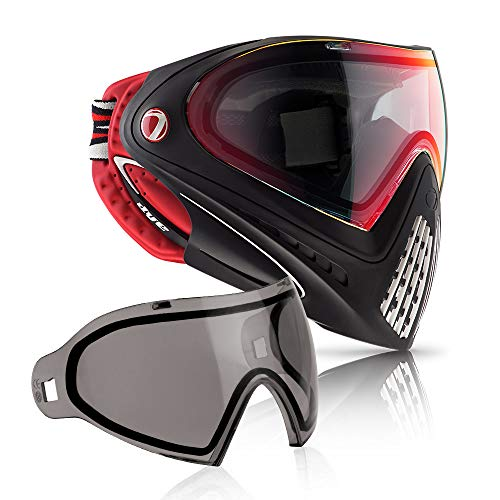 (Dye Precision I4 Thermal Paintball Goggle (Dirty Bird with Additional Smoke Lens))