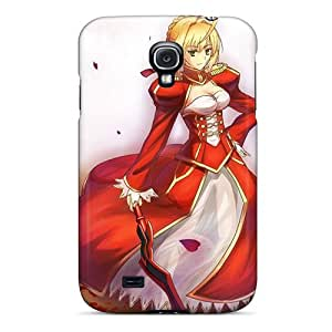 Hot Snap-on Fatestay Night Anime Saber Saber Extra Fate Series Hard Cover Case/ Protective Case For Galaxy S4