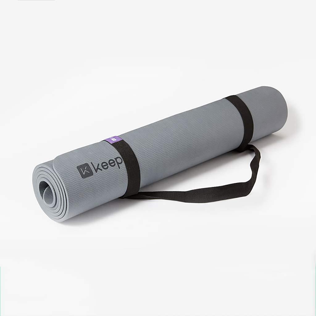 Yogamatte 7mm Trainingsmatte Yogamatte Doppelseitig Rutschfest 183cmx80cm