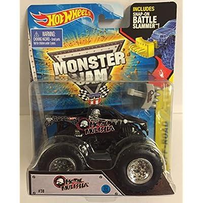 Hot Wheels Monster Jam Snap-On Battle Slammer Metal Mulisha # 38 Off-Road 2015 New Look: Toys & Games