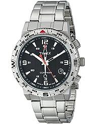 Timex Mens T2P289 Intelligent Quartz Adventure Series Stainless Steel Compass Watch