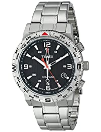 Timex Men's T2P289 Intelligent Quartz Adventure Series Stainless Steel Compass Watch