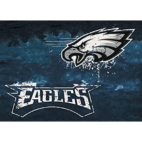 rug nylon dp nfl eagles fanmats face football philadelphia