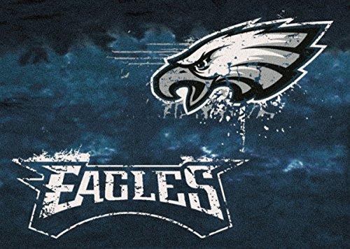 Philadelphia Eagles NFL Team Fade Area Rug by Milliken, 3'10