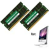 MacMemory Net 4GB DDR2-800 PC2-6400 DDR2 800Mhz SO-DIMM Kit for Apple iMac Model 8,1 (2x 2GB)