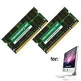 MacMemory Net 6GB DDR2-800 PC2-6400 DDR2 800Mhz SO-DIMM Kit for Apple iMac Model 8,1 (4GB + 2GB)