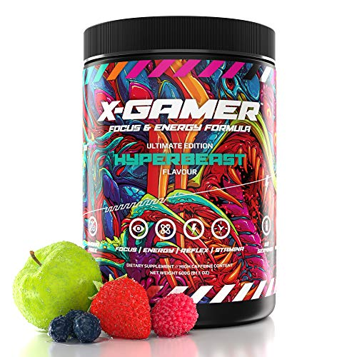 X-Gamer X-Tubz - Gaming Booster Pulver - Shake It Yourself - 600g (60 servings) (Hyperbeast)