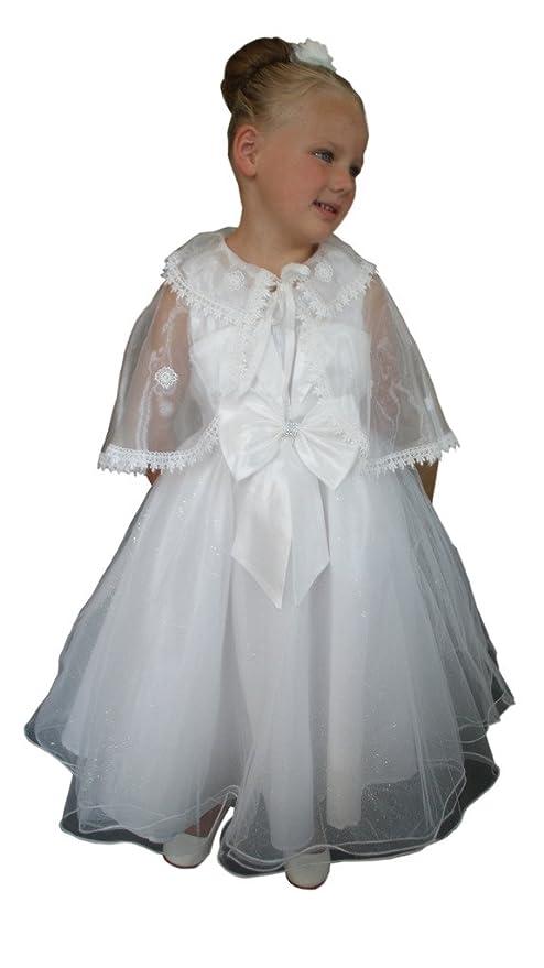 Jessidress Vestido de Fiesta Bautizo Damita de Honor Comunion Vestido de Ceremonia Model Jelle 2 años