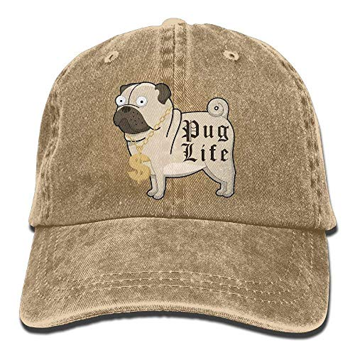 DEFFWB Cowgirl Skull Hat for Sport Cap Life Denim Cowboy Men Hats Pug Women ZqZIR0wr