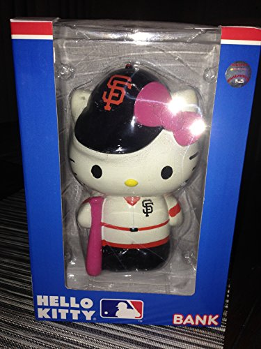 MLB San Francisco Giants Hello Kitty Resin (Chicago Cubs Santa Hat)