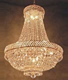 9 light crystal chandelier - French Empire Crystal Chandelier Chandeliers Lighting H26
