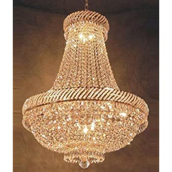 Chandeliers Swarovski crystal trimmed chandelier french empire crystal french empire crystal chandelier chandeliers lighting h26 x audiocablefo