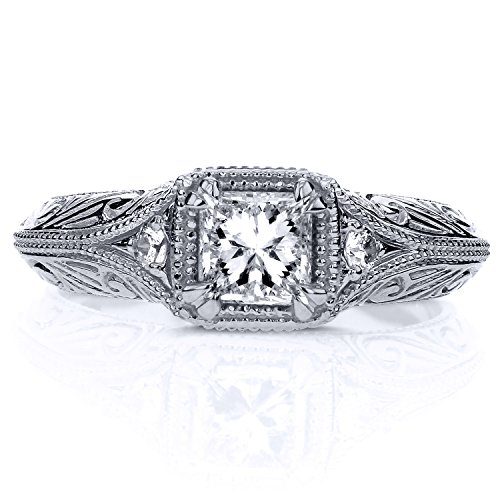 Diamond-Antique-Filigree-Engagement-Ring-58-CTW-in-14k-White-Gold