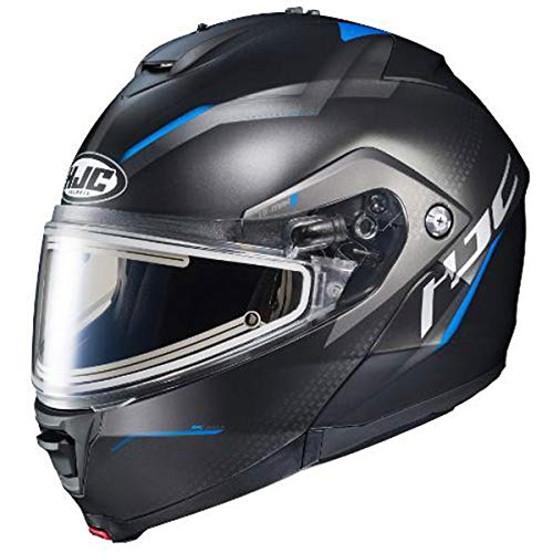 HJC Dova IS-Max 2 Men's Snowmobile Helmet With Electric Shield - MC-2SF / 3X-Large ()