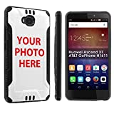 [POPCulture] Custom Rugged Case For Huawei Ascend XT [AT&T GoPhone H1611] YOUR DOG PHOTO HERE [0] Shock Absorbent Hybrid Case