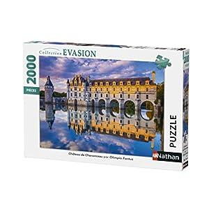 Nathan Puzzle Castello Di Chenonceau 2000 Pezzi 87880