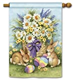 Cheap Magnet Works MAIL92041 Easter Bunnies Standard Flag