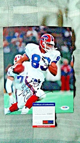 Andre Reed Autographed Signed Photo Buffalo Bills Memorabilia PSA/DNA Washington Redskins Hof ()