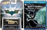 Batman: Gotham Knight Animated Blu Ray + Hot Wheels Tumbler Camouflage Version Dark Knight car movie bundle