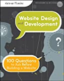 Website Design and Development, George Plumley, 0470889527