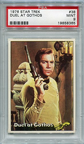 1976 Star Trek - Duel At Gothos #38 PSA 9 MINT (Graded Non-Sports Cards)