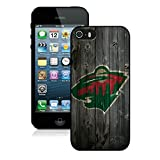 img - for Pamela iPhone SE(2016) Dual Layer Protective Case Minnesota Wild Wood Black Military Grade Protection Case for iPhone SE/5S/5 book / textbook / text book