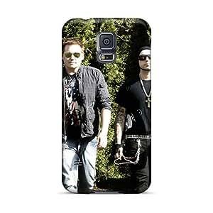 Samsung Galaxy S5 WKH8108vcqv Custom High-definition Three Days Grace Pattern Shock Absorption Hard Phone Case -AnnaDubois