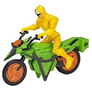 Power Rangers Ninja Steel Power Rangers Mega Morph Cycle with 5-Inch Yellow Ranger Figure