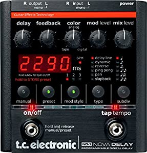 tc electronic nd 1 nova delay guitar pedal musical instruments. Black Bedroom Furniture Sets. Home Design Ideas
