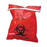 CTKCTRB042910 - CareTek Stick-On Biohazard Infectious Waste Bag