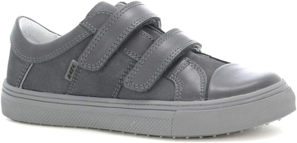 Bartek Boys Leather Shoes Double Velcro