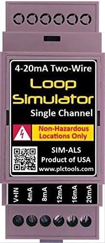 PLC Tools SIM-ALP2 LCD Analog Simulator and Generator Black for sale online
