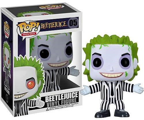 Funko Beetlejuice Pop Movies -