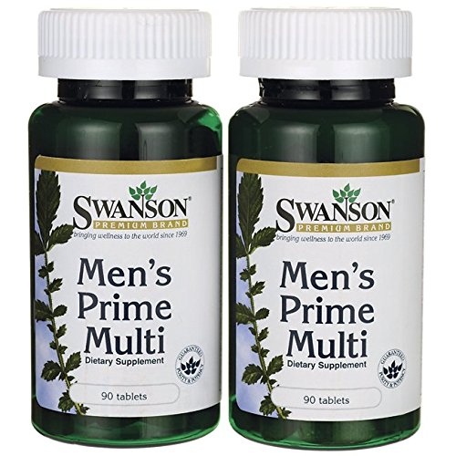 Swanson Mens Prime Multivitamin Tabs product image