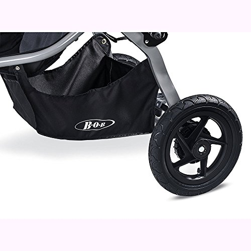 BOB Rambler Jogging Stroller - Black with FREE Diaper Bag by BOB (Image #6)