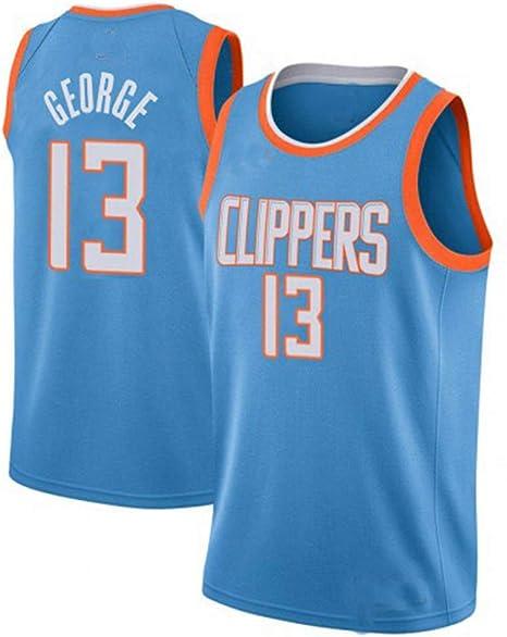 WWWJ 2019-2010 Jersey de Baloncesto Clipp George # 13, Camiseta de ...