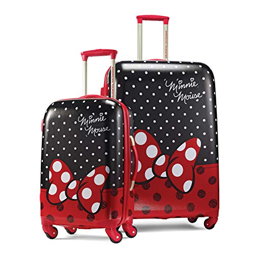 - American Tourister Kids' 2 Pc (21/28), Minnie Mouse Red Bow