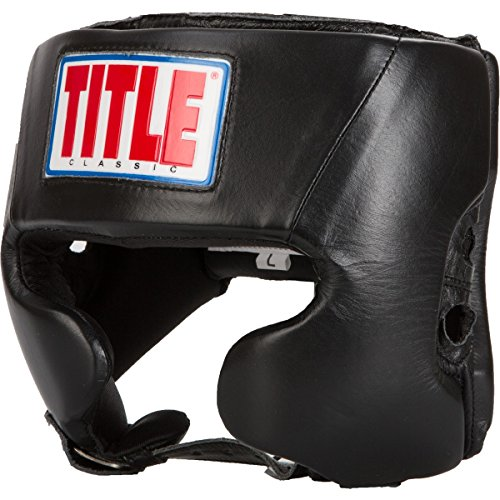 TITLE Classic Amateur Competition Headgear (w/ Cheeks), Black, Small