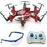 Haibei H20 Hexrcopter 2.4G 4 Canales 6 Axis Gyro Drone Rc Quadcopter 3D Modo sin Cabeza Rollover (Rojo)