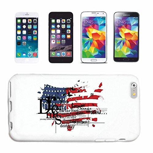 "cas de téléphone iPhone 7 ""AMERICAN DREAMS USA NEW YORK CITY AMÉRIQUE CALIFORNIA USA ROUTE 66 SHIRT BIKER MOTORCYCLE NY NYC LIBERTY ÉTATS-UNIS BRONX BROOKLYN LOS ANGELES MANHATTAN"" Hard Case Cover Tél"