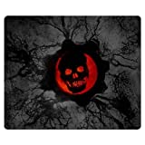 30x25cm 12x10inch gaming mouse mats rubber * cloth Mouse Pad prevent fraying Gears of War