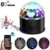 Fashionwu USB Plug Bluetooth Stage Light Projection Lamp Remote Control Music Light Festival Decoration 9-colour
