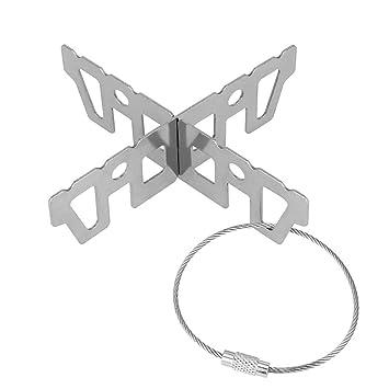 ZKSM Topfkreuz Mini Kreuzständer aus Edelstahl perfekt auf Allen handelsüblich